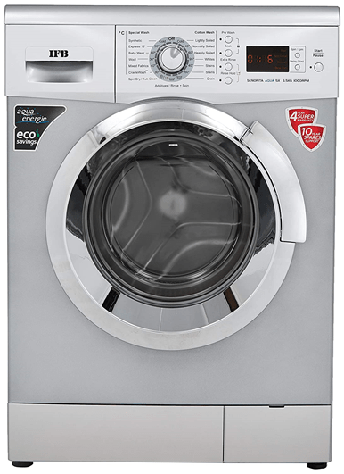 IFB Senorita Aqua SX 6.5 kg washing machine - Silver 1000 rpm