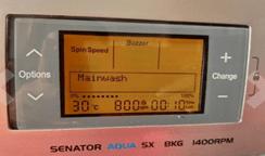 IFB Senator Aqua SX 8 kg washing machine – silver 1400 rpm