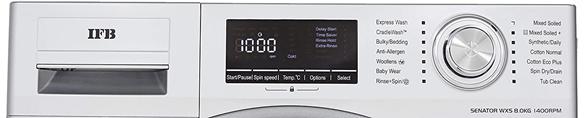 IFB Senator WXS 8 kg washing machine– silver 1400 rpm