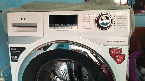 IFB Elite Plus VX ID 7.5 kg washing machine - White 1200 rpm