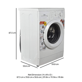 ifb washing machine elena aqua VX 6kg 800RPM dimension