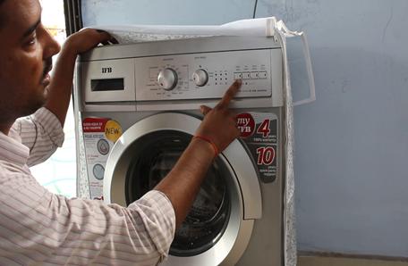 Installation & Demo ifb washing machine